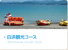 白浜観光コース Shirahama tourist route